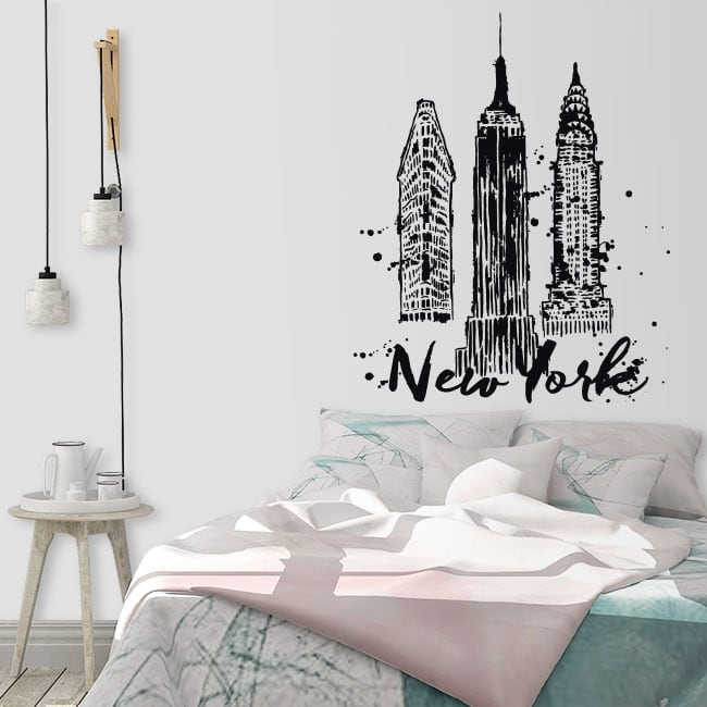 Vinilos de pared new york