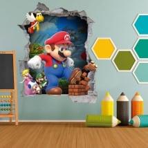 Vinilos infantiles y juveniles videojuegos mario bros 3d