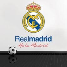 Vinilos y pegatinas de fútbol real madrid