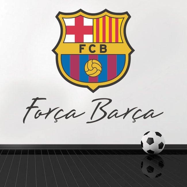 Vinilos y pegatinas de fútbol club barcelona