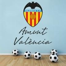 Vinilos y pegatinas valencia club de fútbol