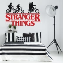 Vinilos y pegatinas series tv stranger things