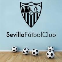 Vinilos decorativos escudo sevilla fútbol club