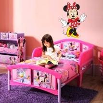 Vinilos infantiles o juveniles disney minnie mouse