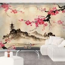 Fotomurales de vinilos arte japonés
