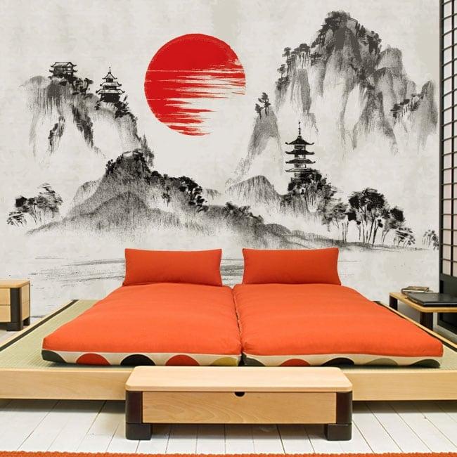 Fotomurales de vinilos arte de japón