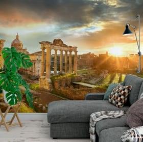 Fotomurales de vinilos ruinas foro romano italia