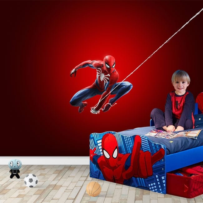 Fotomurales infantiles o juveniles spiderman marvel