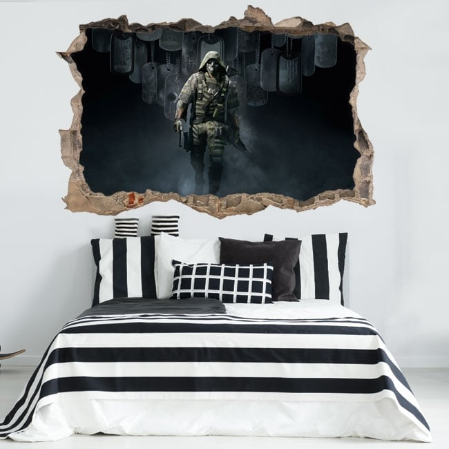 Vinilos 3d tom clancy's ghost recon breakpoint