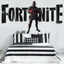 Vinilos decorativos fortnite black knight