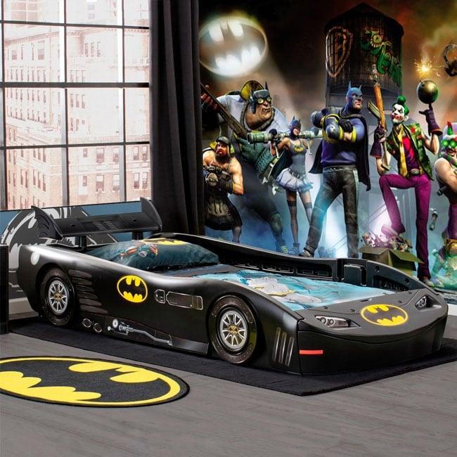 Fotomurales de vinilos batman gotham city impostors