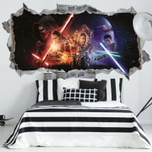 Vinilos decorativos 3d star wars