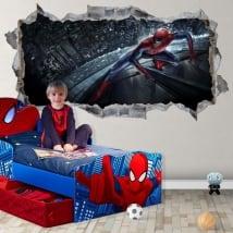 Vinilos y pegatinas 3d spiderman