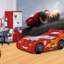 Fotomurales infantiles disney cars