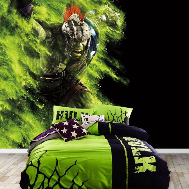 Fotomurales de vinilos marvel superhéroe hulk