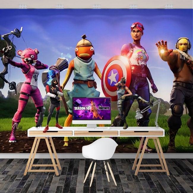 Fotomurales los vengadores videojuego fortnite