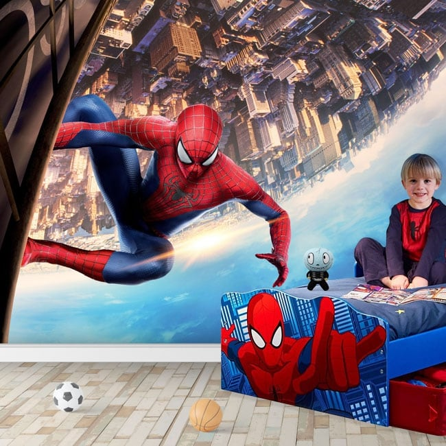 Fotomurales de vinilos spiderman marvel