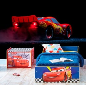 Fotomurales de vinilos disney rayo mcqueen disney cars