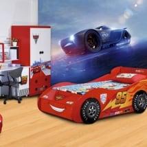 Fotomurales infantiles disney cars jackson storm