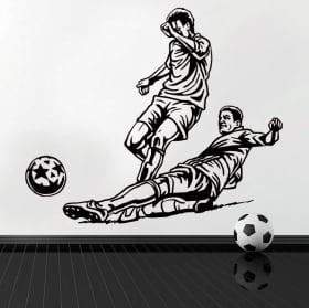 Vinilos decorativos y pegatinas de fútbol
