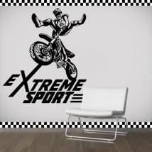 Vinilos y pegatinas motocross extreme sport