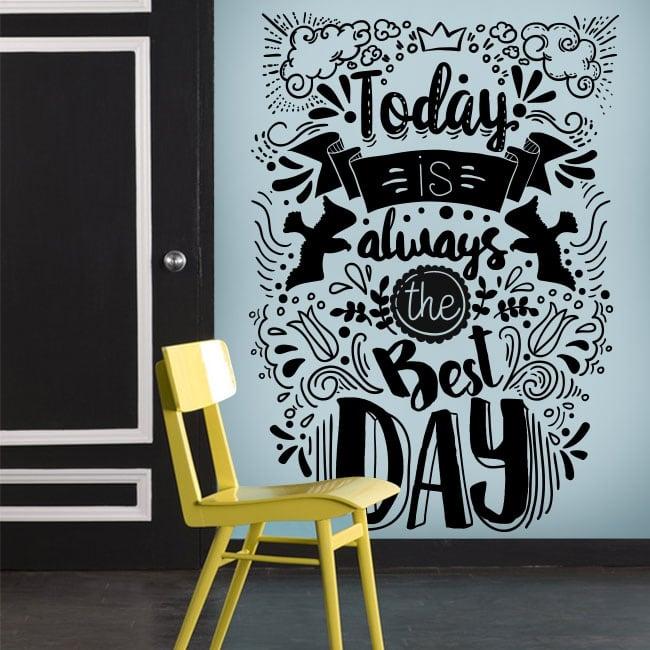 Vinilos decorativos frases motivadoras en inglés