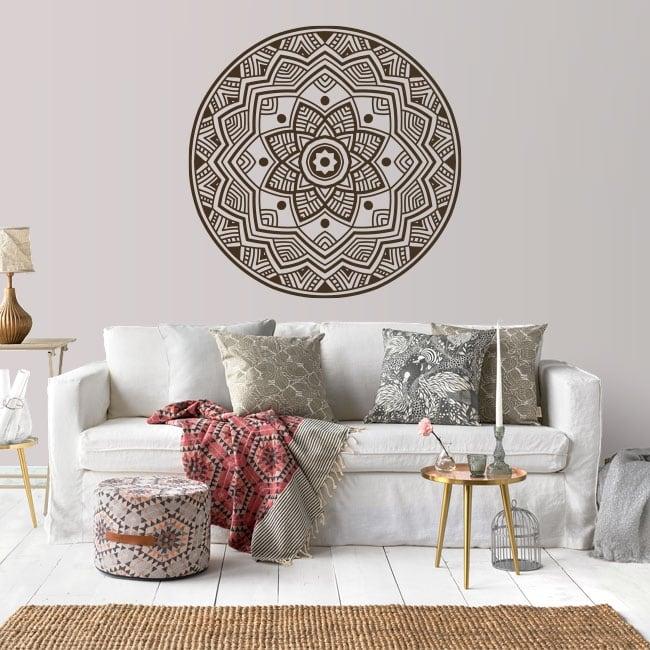 Vinilos decorativos y pegatinas con mandalas