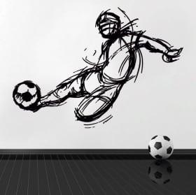 Vinilos y pegatinas de fútbol