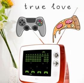 Vinilos y pegatinas videojuegos true love