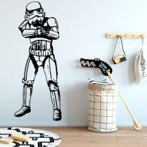 Vinilos y pegatinas star wars stormtrooper