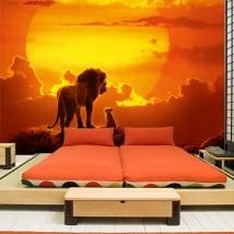Fotomurales de vinilos el rey león