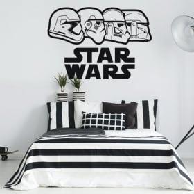 Pegatinas de vinilos star wars stormtrooper