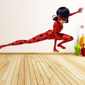 Vinilos y pegatinas miraculous ladybug