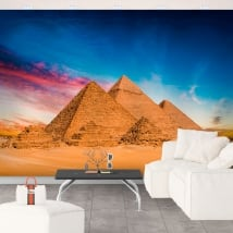 Fotomurales de vinilos pirámides de giza