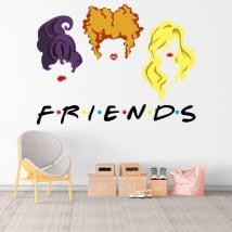 Pegatinas de vinilos netflix friends