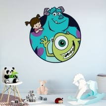 Vinilos y pegatinas disney monsters univertisty