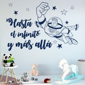 Vinilos y pegatinas frases buzz lightyear toy story