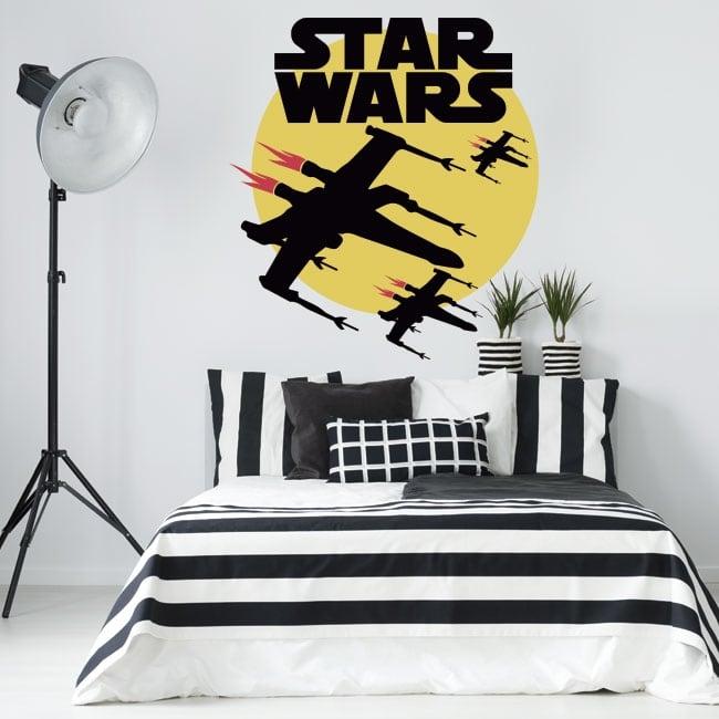 Pegatinas de vinilos star wars