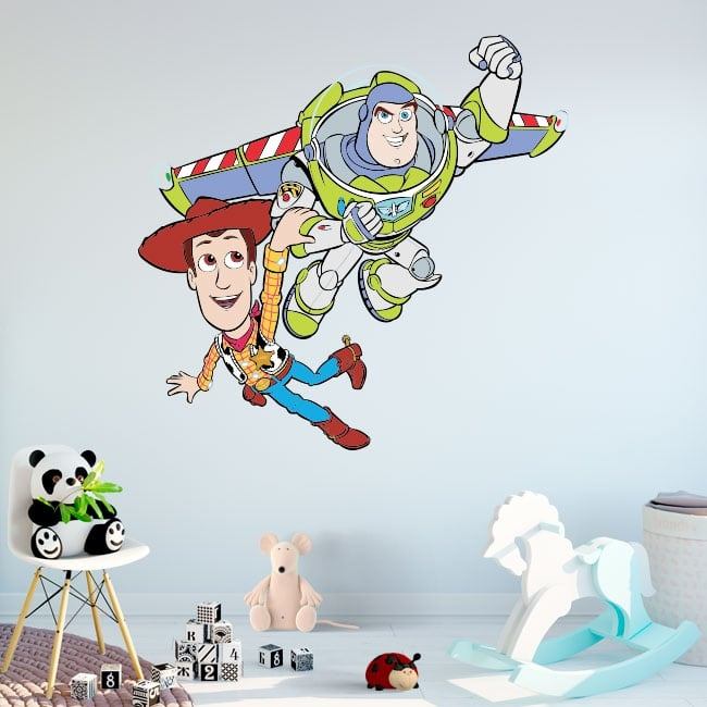 Pegatinas disney toy story buzz lightyear y woody