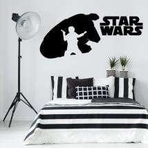 Pegatinas y vinilos decorativos de star wars