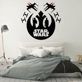 Vinilo decorativo o pegatina star wars