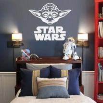Vinilos decorativos y pegatinas yoda star wars