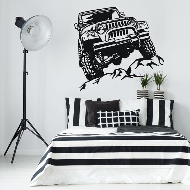 Vinilos decorativos y pegatinas jeep offroad