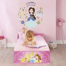 Vinilos y pegatinas infantiles con princesas
