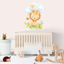Vinilos y pegatinas infantiles o para bebés el rey león