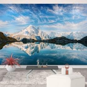 Fotomurales de vinilos lago blanco francia