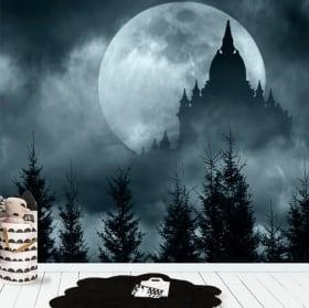 Fotomurales de vinilos luna llena