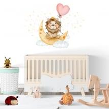 Vinilos y pegatinas para bebé el rey león dulces sueños