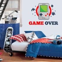 Vinilos videojuegos game over