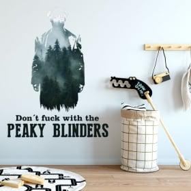 Vinilos paredes peaky blinders